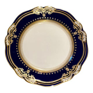 Spode Lancaster Cobalt Dinner Plate For Sale