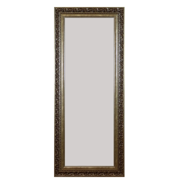 Traditional Floor Mirror For Sale - Image 3 of 3