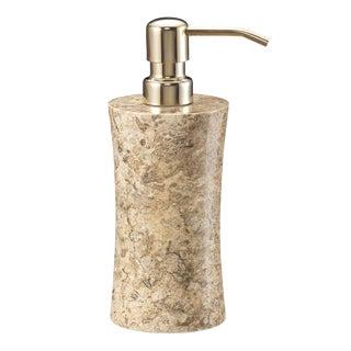 Tan Marble Soap Dispenser For Sale