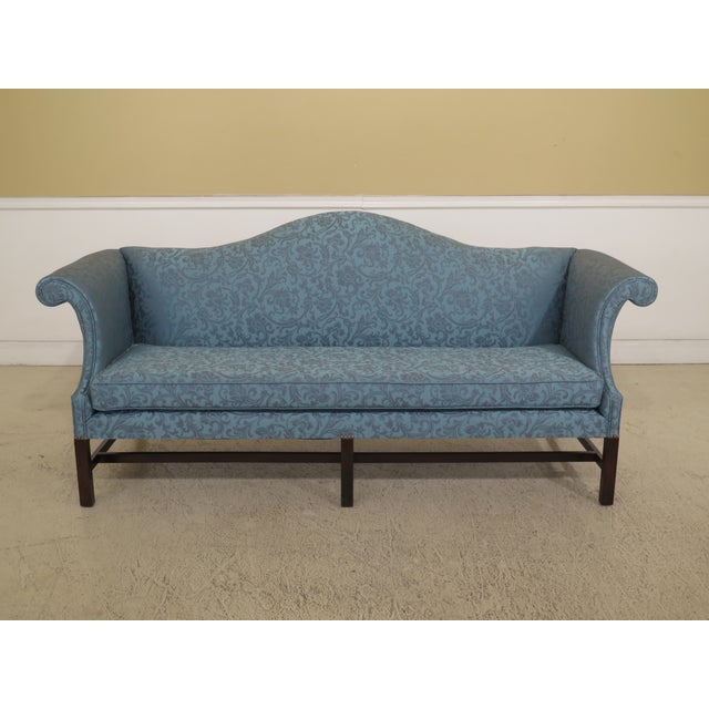 1970s Vintage Kittinger Colonial Williamsburg Mahogany Sofa For Sale - Image 12 of 12