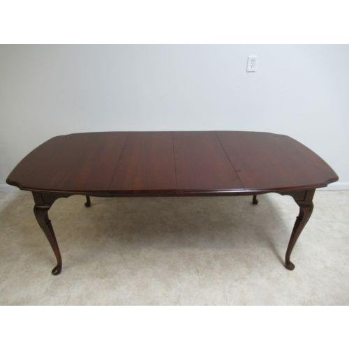 Brown Pennsylvania House Cherry Cookie Corner Dining Table For Image 8 Of 9