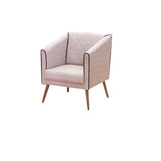 Modern Tan Malibu Armchair For Sale