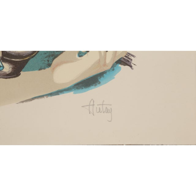 Artist: Autay Title: Music Class Medium: Lithograph, signed and numbered in pencil Edition: 300 Size: 24 x 20 inches...