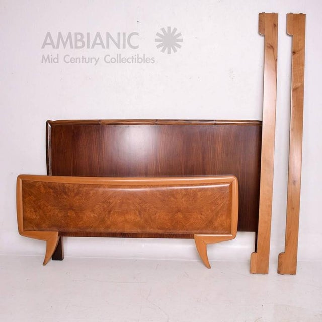 Mid-Century Modern Italy Bed Frame For Sale In San Diego - Image 6 of 10