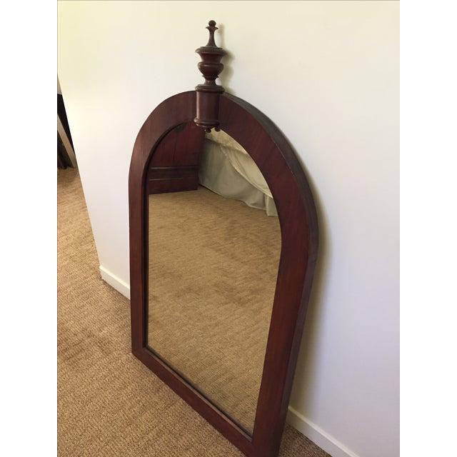 Antique Wood Framed Mirror - Image 4 of 6