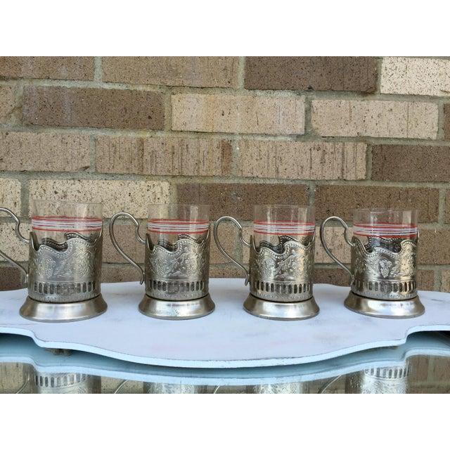 Russian Tea Glasses - Set of 4 - Image 5 of 5