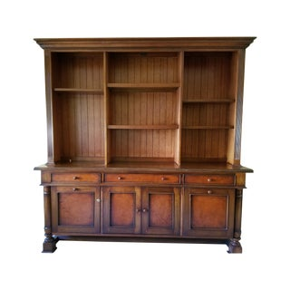 South Cone Sevilla Credenza Bookcase in Cognac For Sale