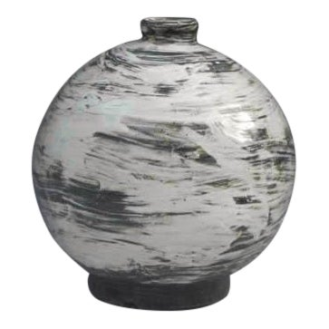 Kang Hyo Lee, Puncheong Oval Bottle For Sale