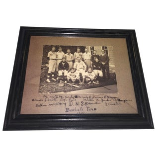 Vintage Baseball Team Photo Reproduction For Sale