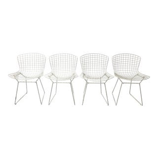 Set of 4 Bertoia Side Chairs for Knoll