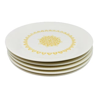 Sheffield Serenade Dinner Plates - Set of 5 For Sale