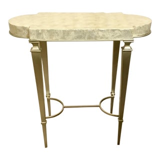 Contemporary Caracole Shell Accent Table For Sale