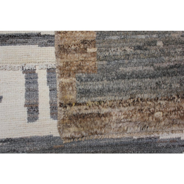 Contemporary Aara Rugs Inc. Moroccan Inspired Hand-Knotted Rug - 5′10″ × 8′6″ For Sale - Image 3 of 13