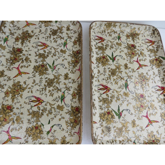 Japanese Paper Mache Trays - Set of 3 - Image 7 of 7