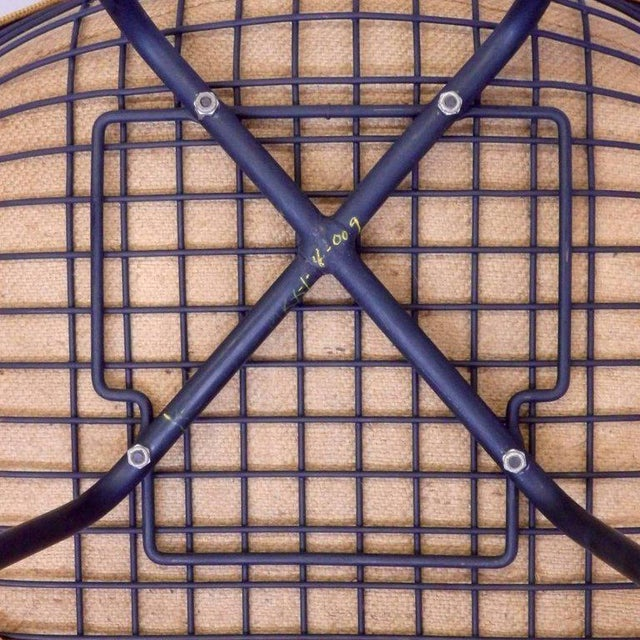 1950s Eames Herman Miller Dkr Chair on Early Production Low X-Base For Sale - Image 5 of 6