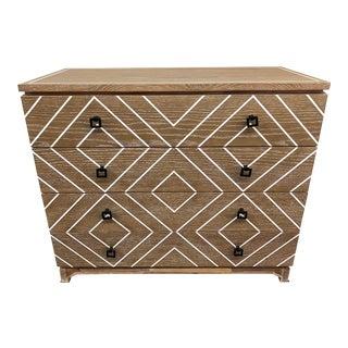 Contemporary Four Drawer Dresser For Sale