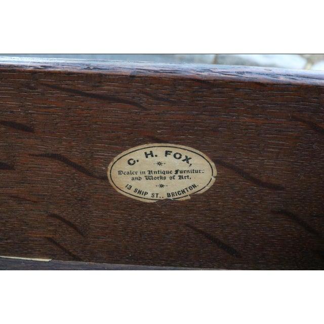 George III Mahogany Kneehole Desk - Image 9 of 11
