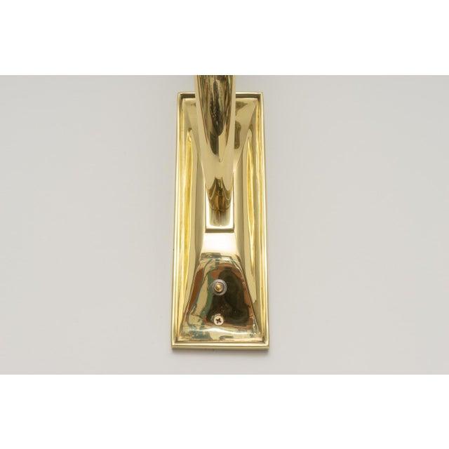 Art Deco Art Deco Brass Sconces - a Pair For Sale - Image 3 of 13