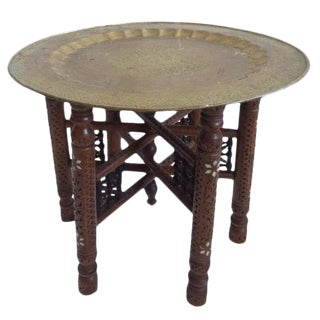 Vintage Indo Asian Table For Sale