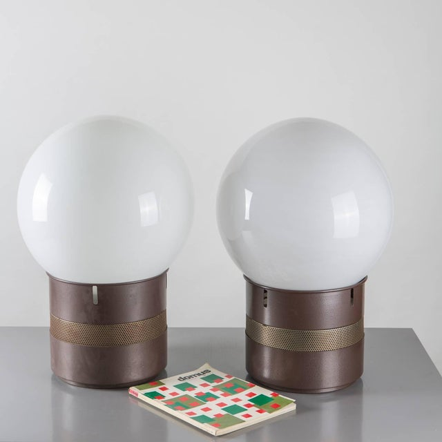 """Pair of """"Mezzo Oracolo"""" Table Lamps by Gae Aulenti for Artemide For Sale - Image 9 of 9"""