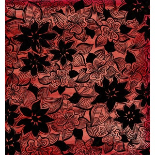 Original French Fabric/Tapestry Design by Arthur Litt For Sale