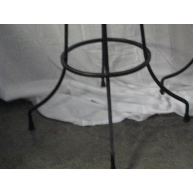 Metal Arthur Umanoff Mid-Century Iron Bar Stools - Set of 4 For Sale - Image 7 of 10