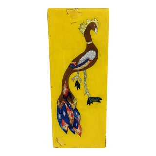 Vintage Folk Art Bird