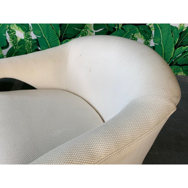 Textile Pair of Vladimir Kagan Sculptural Club Chairs For Sale - Image 7 of 11