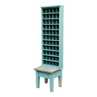 1950s Post Office Pigeon Hole Mail Sorter For Sale
