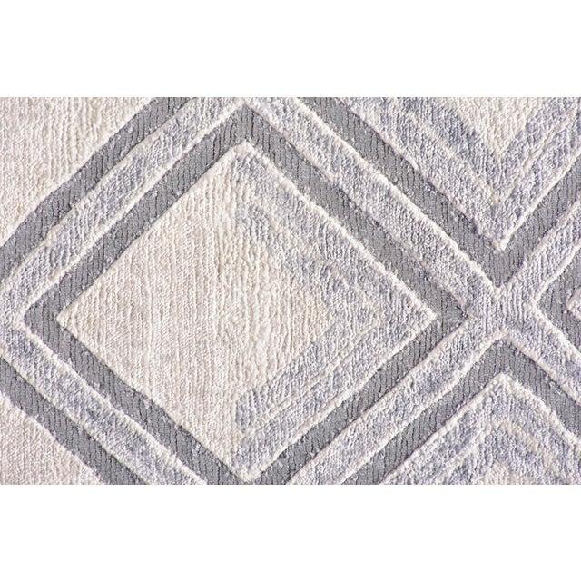 2010s Stark Studio Rugs New Oriental Tibetan 80% Bamboo Silk / 20% Cotton Rug - 8′ × 10′ For Sale - Image 5 of 5