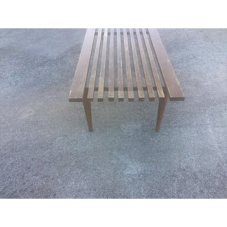 Mid-Century Modern Slat Wood Bench/Table Preview