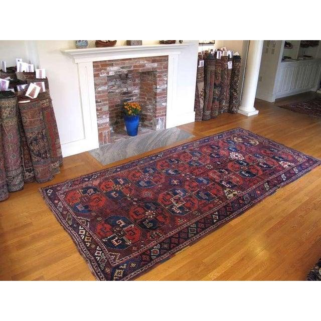 Traditional Karakalpak Long Rug For Sale - Image 3 of 6