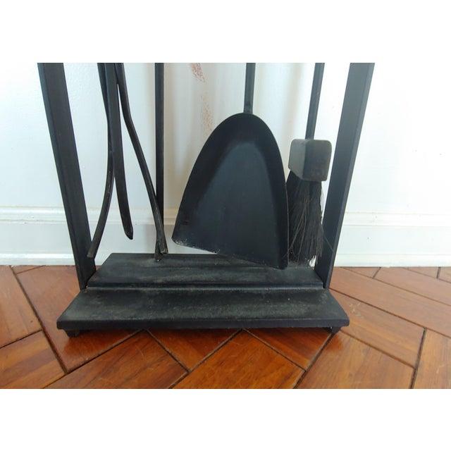Vintage Pilgrim Mid Century Modern Fireplace Tool Set