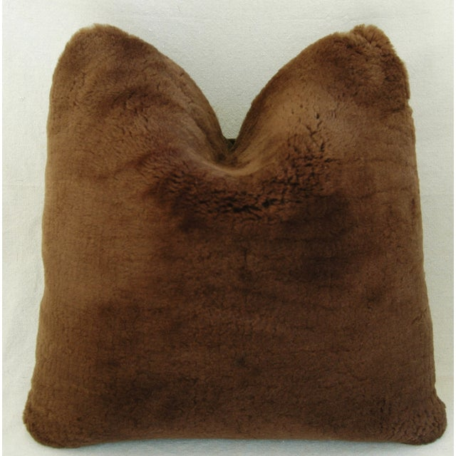Pierre Frey Plush Lambswool Pillows - A Pair - Image 3 of 7