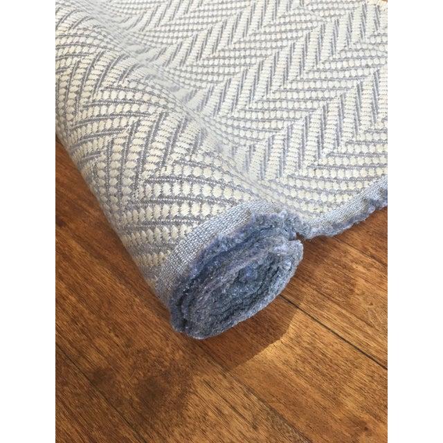 Cowtan & Tout Woven Chevron Fabric- 3 Yards | Chairish
