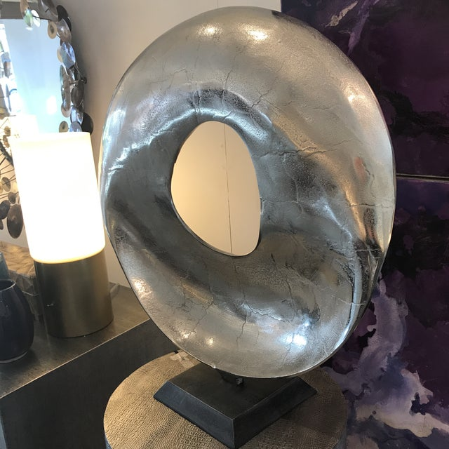 Modern Modern Round Sculpture For Sale - Image 3 of 9