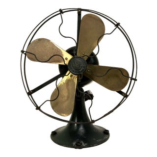 Antique Rewired General Electric Whiz Fan from 1920 For Sale