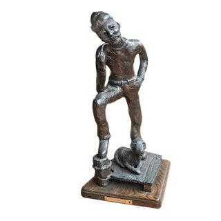 Sea Chant Bronze Sculpture For Sale