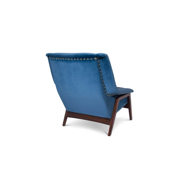 Mid-Century Modern Covet Paris Inca Armchair For Sale - Image 3 of 7