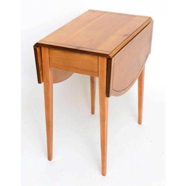 Pine 1940s Georgian Pine Pembroke Table For Sale - Image 7 of 12