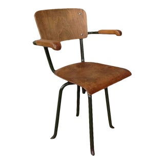 French 1930s Industrial Chair For Sale