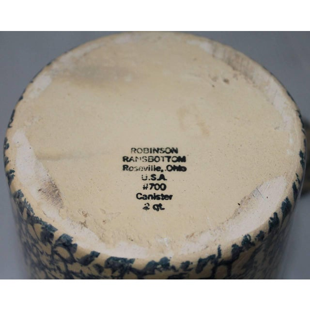 Robinson Ransbottom Pottery Co. 20th Century Ransbottom Cookie Jar For Sale - Image 4 of 5
