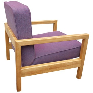 Midcentury George Nelson Cubist Lounge Chair Model 4774 For Sale