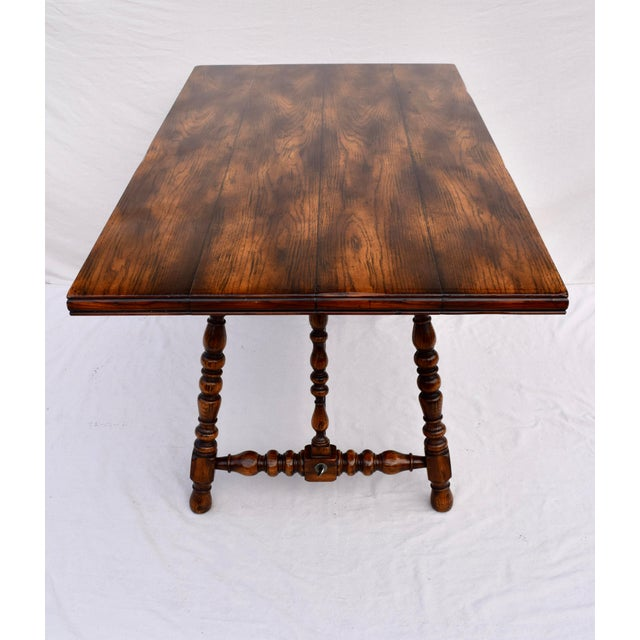 Metal Spanish Colonial Style Dining Table by ABC Carpet & Home Center For Sale - Image 7 of 9
