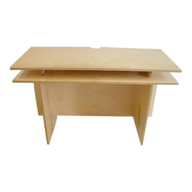 Modern Donald Judd's Architecture Desk For Sale