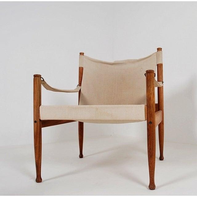 Safari Sling Lounge Chairs by Erik Wørts - A Pair - Image 4 of 6