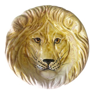 Vintage Italian Lion Catch All Dish For Sale