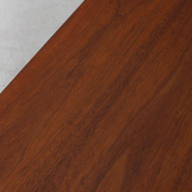 Mid-Century Teak Walnut & Rosewood Accent Table For Sale In Washington DC - Image 6 of 7