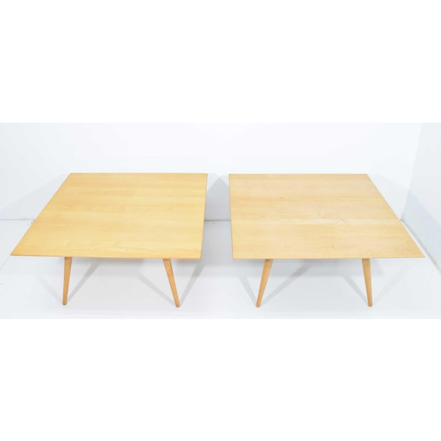 Paul McCobb Planner Group Maple Coffee Tables - a Pair For Sale - Image 11 of 11