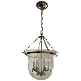 Bell Jar Pendant Lantern Light by Chapman For Sale